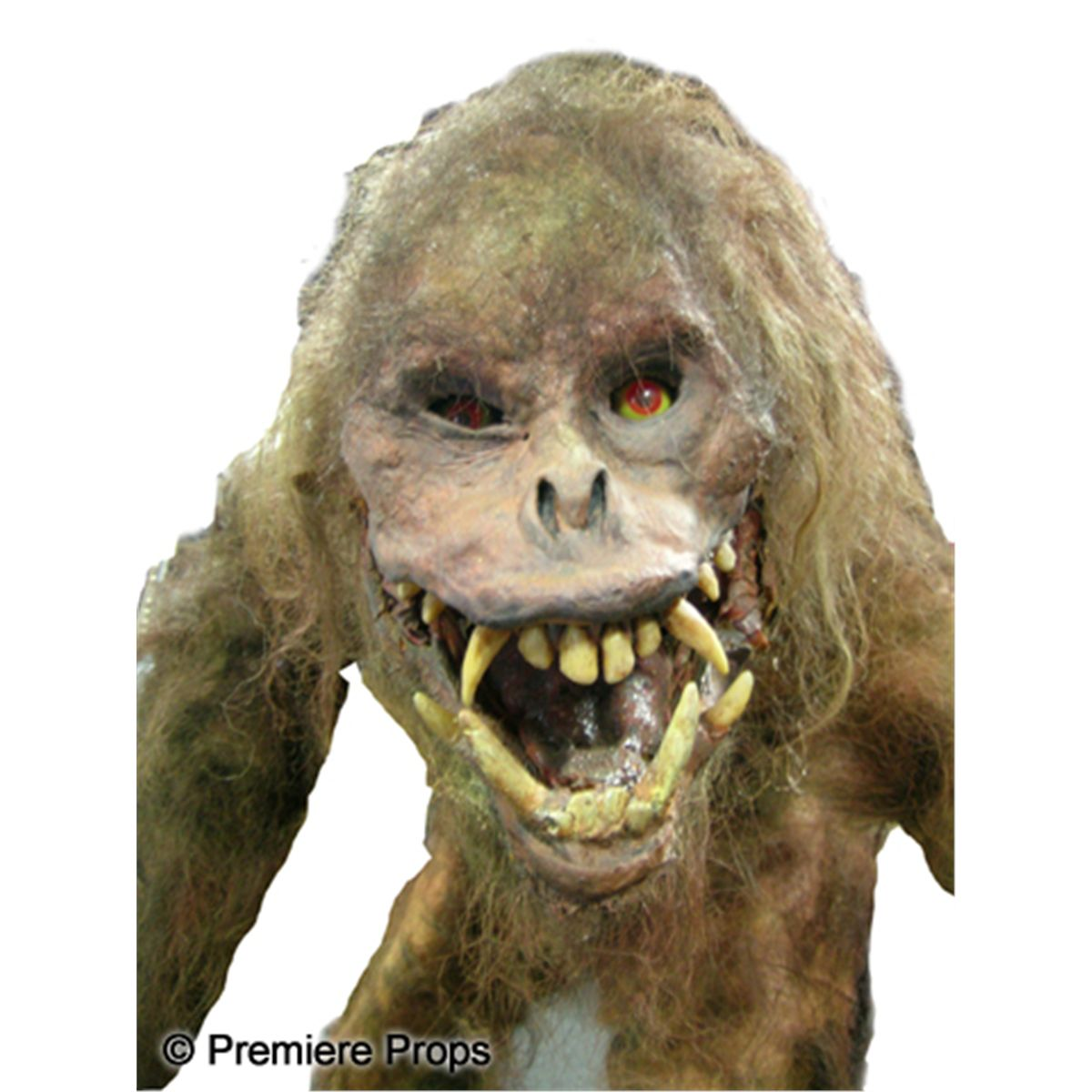 wild man screen used figure from big trouble in little china