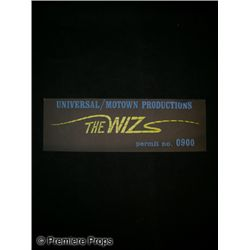 The Wiz Movie Crew Permit
