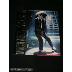 Michael Jackson Signed Dancing the Dream Book