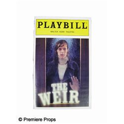 The Weir Signed Playbill