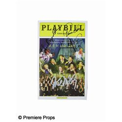 Star Jones and Deborah Cox Signed Playbill
