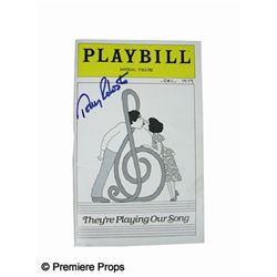 Tony Roberts Signed Playbill