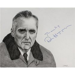 Dennis Hopper Signed Drawing