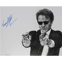 Harvey Keitel Signed Drawing