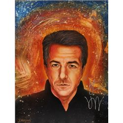 Dustin Hoffman Signed Painting