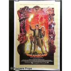 Dreamscape Poster Signed by Drew Struzan