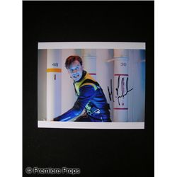 Michael Fassbender Signed X Men First Class Photo