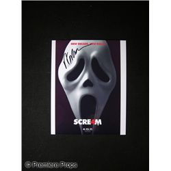 Wes Craven Signed Scream 4 Photo