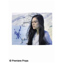Zahng Ziyi Signed Photo