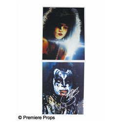 Gene Simmons and Paul Stanley Signed Photos