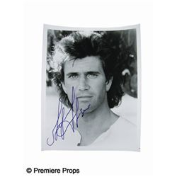 Mel Gibson Signed Photo