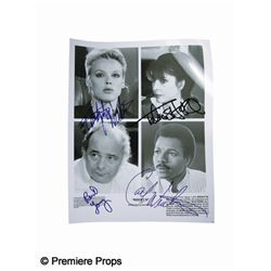 Rocky IV Signed Cast Photo