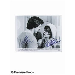 Rocky Photo Signed by Sylvester Stallone and Talia Shire