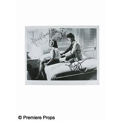 Anne Bancroft and Dustin Hoffman Signed Photo