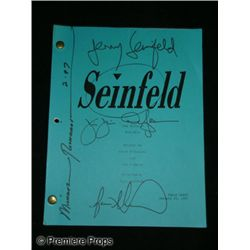 """Seinfeld"" Autographed Production Script"