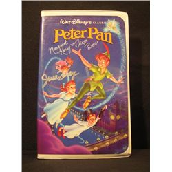 Peter Pan Signed June Foray Cassette