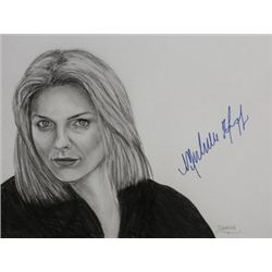 Michelle Pfeiffer Signed Drawing