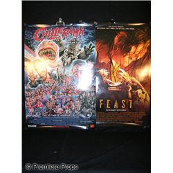 Chillerama and Feast Signed Posters