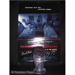 Paranormal Activity 3 Signed Poster and Hat