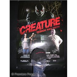 Paranormal Activity 3 Signed Hat and Creature Signed Poster