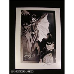 Yvonne Craig Signed Lithograph