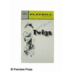 Twigs Signed Playbill