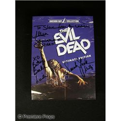 Evil Dead DVD Signed by Female Stars