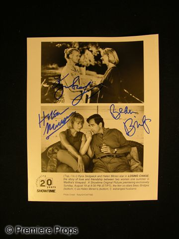 losing chase signed cast photo