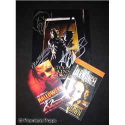 Andrew Bryniarski Signed Photo and Other Horror Items