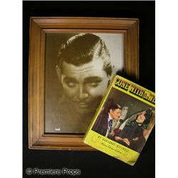Clark Gable Photo and Book