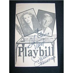 Playbill Signed By Batman Actors