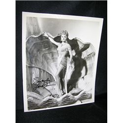 Lana Turner Signed Photo
