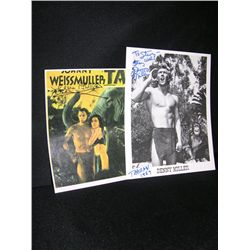 Denny Miller and Maureen O'Sullivan Signed Tarzan items