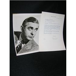 Eddie Cantor Signed Lot