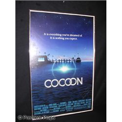 Framed and Signed Cocoon Poster