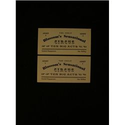 Dr. Doolittle Screen Used Tickets