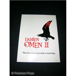 Damien Omen II Cast Card