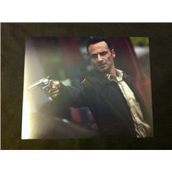 The Walking Dead Photo Signed by Andrew Lincoln