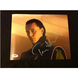 Thor Photo Signed by Tom Hiddleston