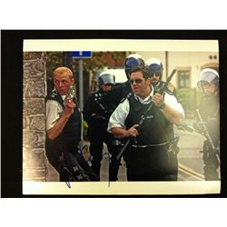 Hot Fuzz 11 x 14 Photo Signed by Simon Pegg and Nick Frost