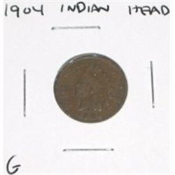 1904 Indian Head Penny *GOOD GRADE*!!!