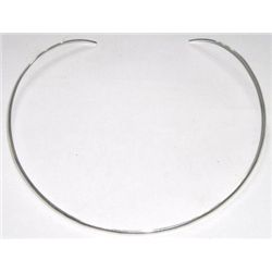 Solid Sterling Silver *STAMPED .925* Choker Necklace!! Necklace weighs 11.65 Grams!!!