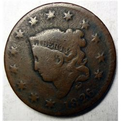 1826/5 large penny  G/VG  N8