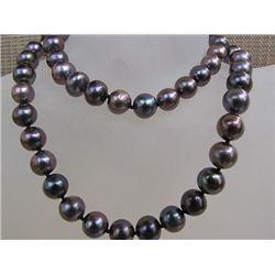 STUNNING 7 - 8 MM Akoya Pearl Necklace