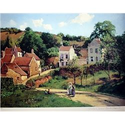 Limited Edition Pissaro- L'Hermitage At Pontoise - Collection Domaine Pissaro