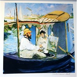 Limited Edition Manet- Painting Manet - Collection Domaine Manet