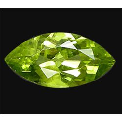 1.25ct Marquise Cut Top AAA Lemon Yellow Peridot  (GEM-15122)