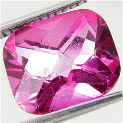 4.85ct Mystic Pink Cushion Topaz (GEM-41716)