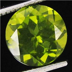 3.2ct Excellent Pakistan Peridot Round (GEM-32651)