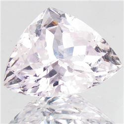 10.05ct Sparking Top Pink Kunzite Trillion (GEM-42788)